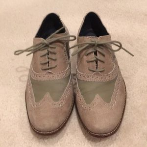Men's suede and leather shoes 8